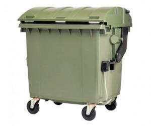 Четырехколесные контейнеры для мусора