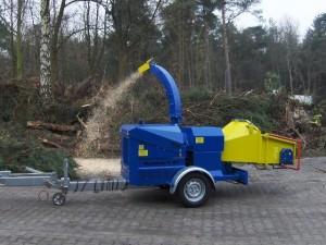 Измельчители древесины H5. Дробилка древесных отходов